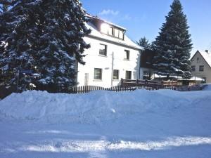 Und auch im Winter ist es gross genug, aber die Schneemassen (manchmal) auch.
