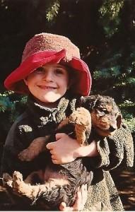Hier mal ein Bild von Antonia - von früher - sie war schon immer so.