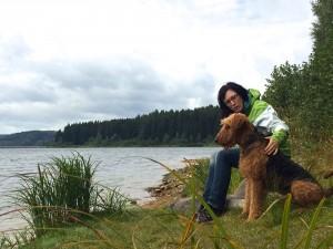 Das ist ein wunderschönes Bild - vielen Dank, unser Wasco mit seinem Frauchen.