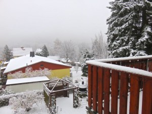 Einen Tag noch Winter - ist es nun der Abschied?