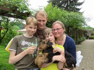 Auch hier eine tolle Familie, hatten 15 Jahre unseren Danilo-jetzt kommt die Neue!