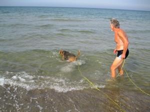 Ostsee, Yule komm, wir gehen ins Wasser!