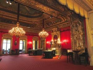Das ahnt man nicht ! Kein Schloss ! Das ist (ein kleiner Teil) im Casino Baden-Baden. Wir hatten eine FÜHRUNG - kein Spielen also.