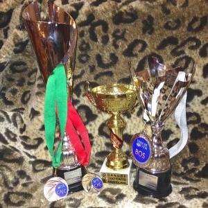 Und hier ihre Auszeichnungen in der Slowakei.