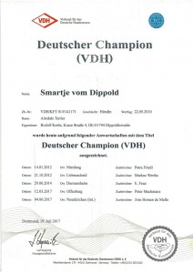 Nessy DeutscherChampionVDH-1
